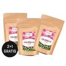Chlorella v tabletah iz ekološke pridelave 100g (200 tablet) 2+1 gratis