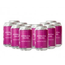 Kombucha Raspberry 330 ml Buy 10 get 2 Free + Free shipping