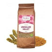 Organic unhulled millet