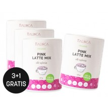 Pink latte mix 125g 3+1 gratis