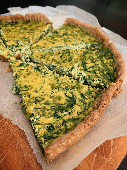 Spinach (vegan) pie
